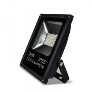 LED reflektor 20W SMD2835 1800lm SLIM NEUTRÁLNÍ